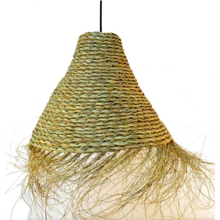 Colección lámparas colgantes ECO: mimbre, ratan, esparto