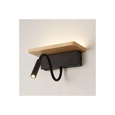 Apliques madera  más leds